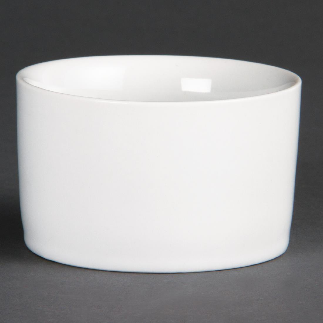 Olympia Whiteware Contemporary Ramekins 80mm