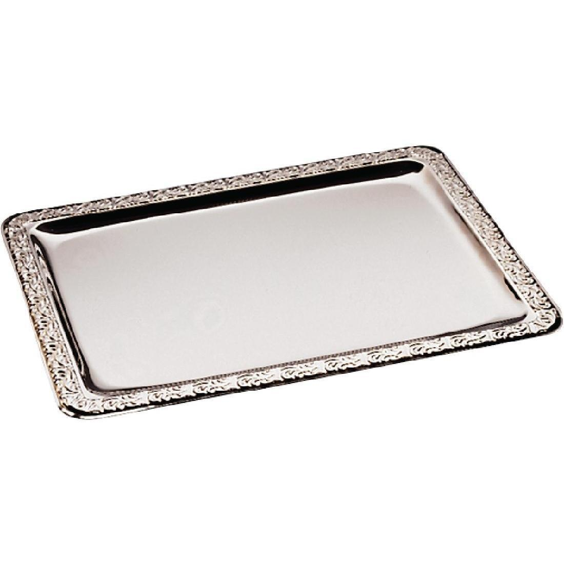 APS Stainless Steel Service Tray 600mm - Each - CF027