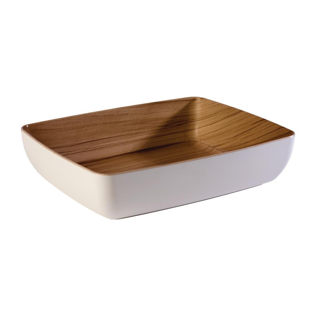APS Frida Bowl GN1/2 White - Each - DW064