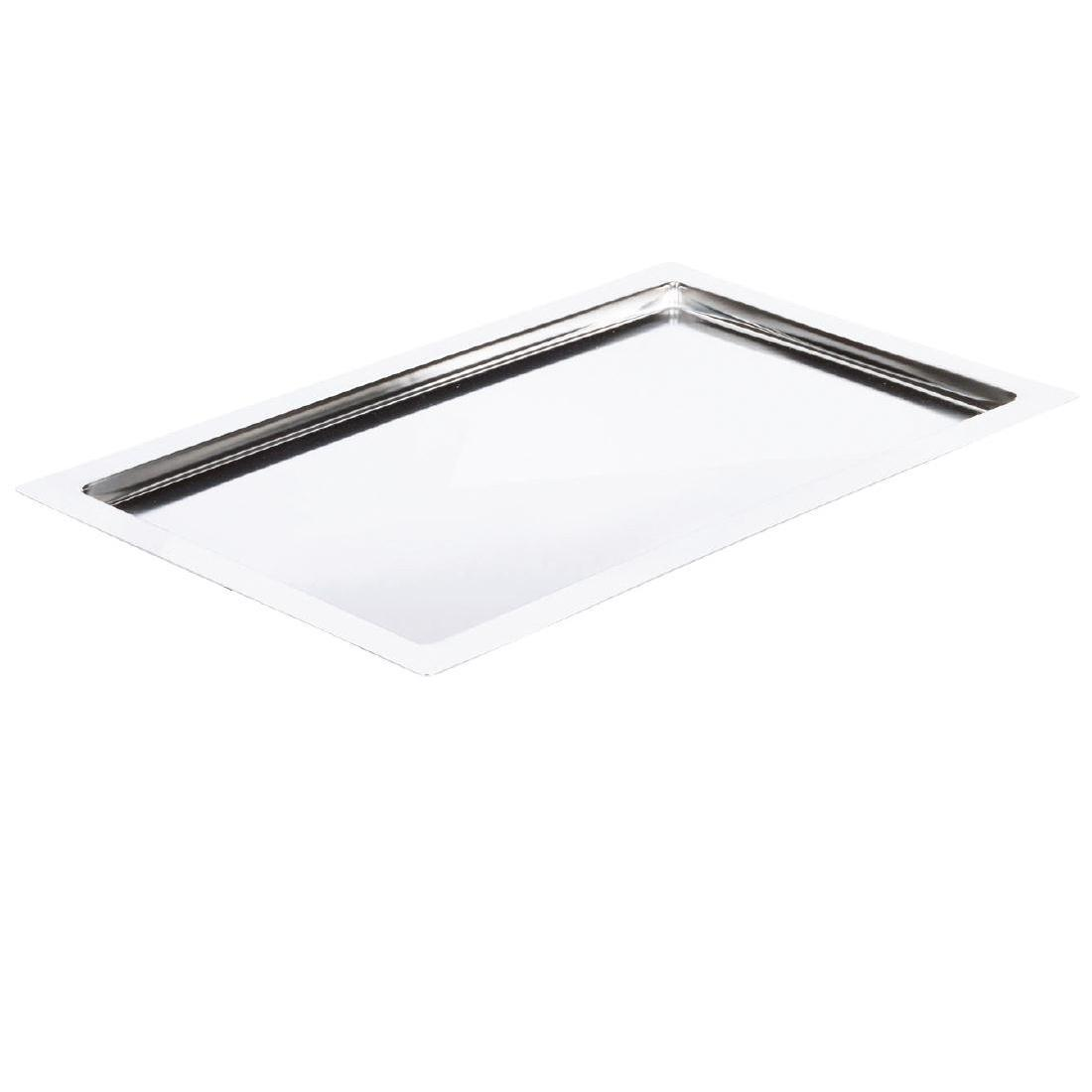 APS Frames Stainless Steel Platter GN 1/1 - Each - GC904