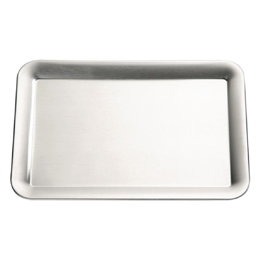APS Pure Stainless Steel Tray - Each - GF162
