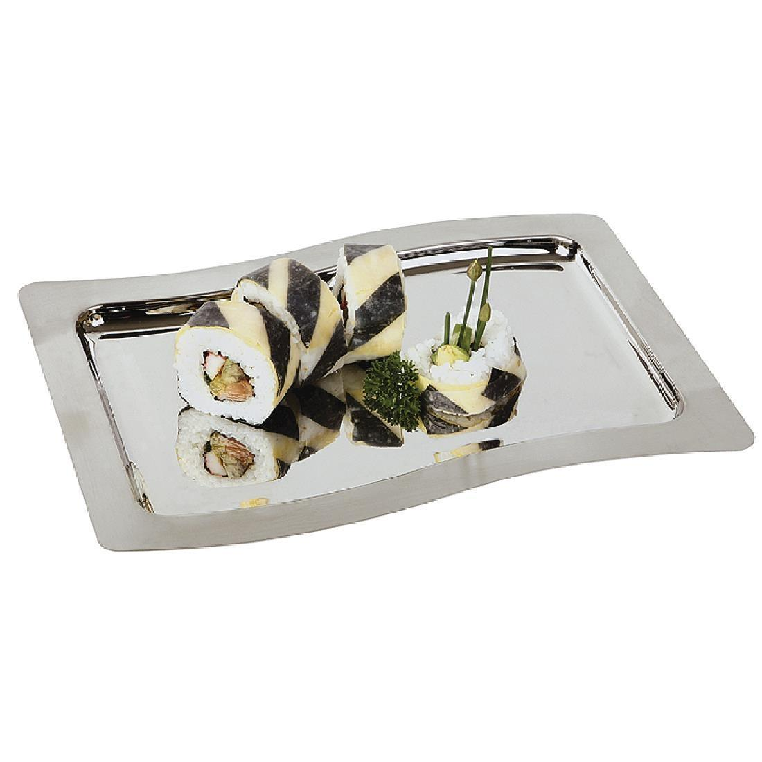 APS Stainless Steel Service Display Tray 285mm - Each - S499