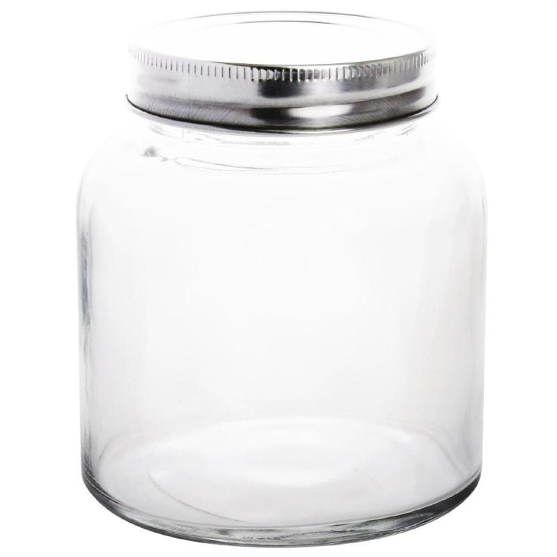 Vogue Glass Screw Top Preserving Jar 330ml - Case 6 - CP082