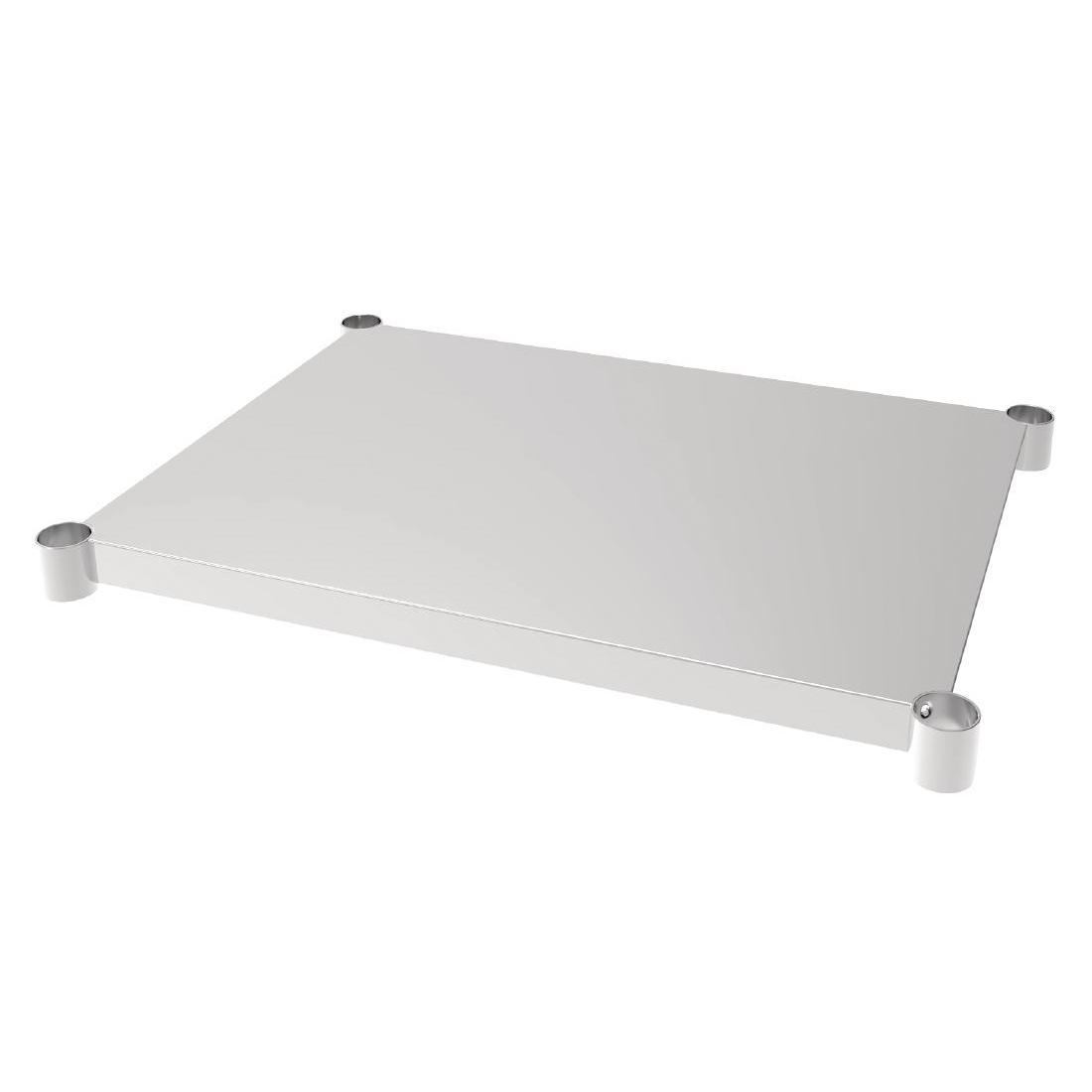 Vogue Stainless Steel Table Shelf 700x900mm - Each - CP836