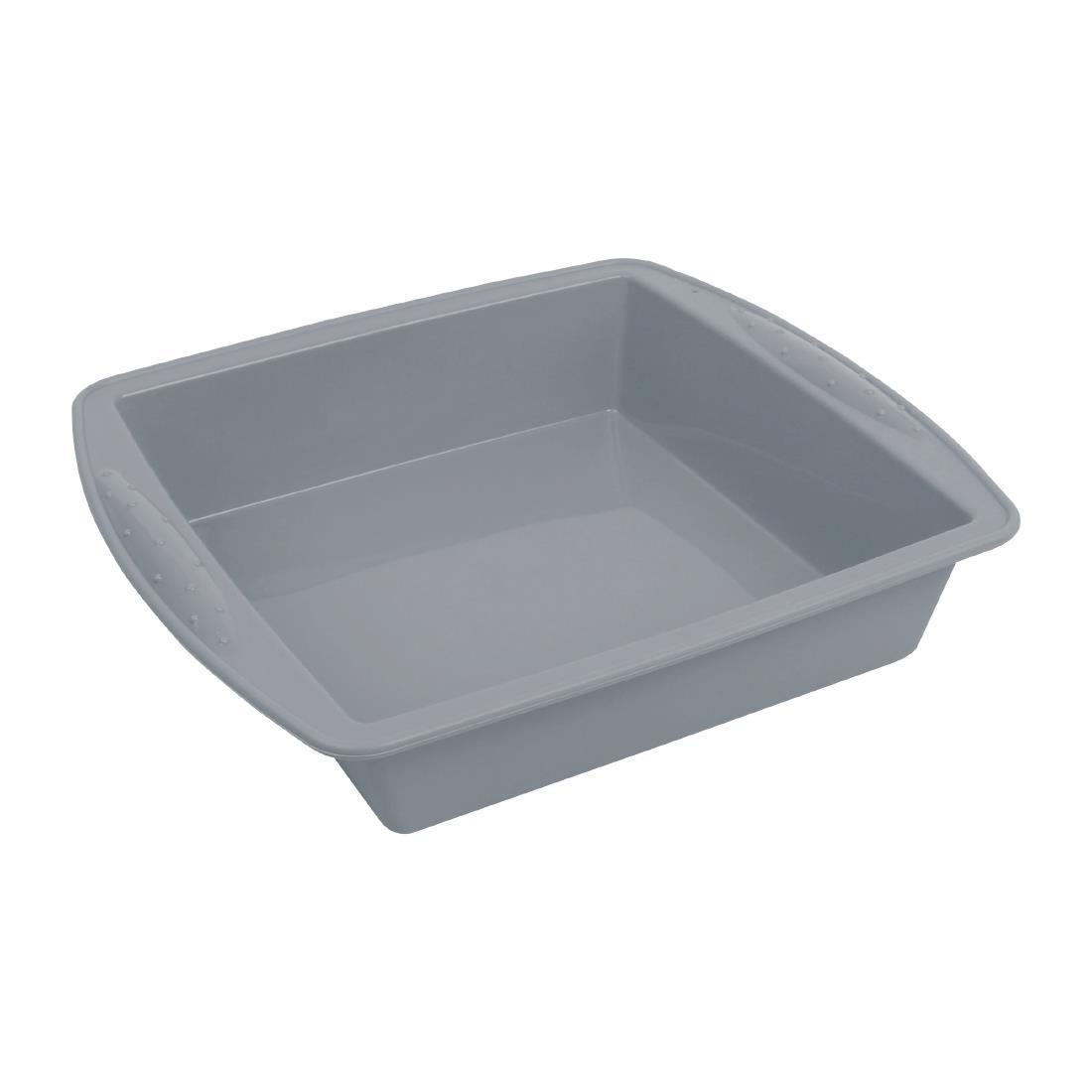 Vogue Flexible Silicone Square Bake Pan 245mm - Each - DA532