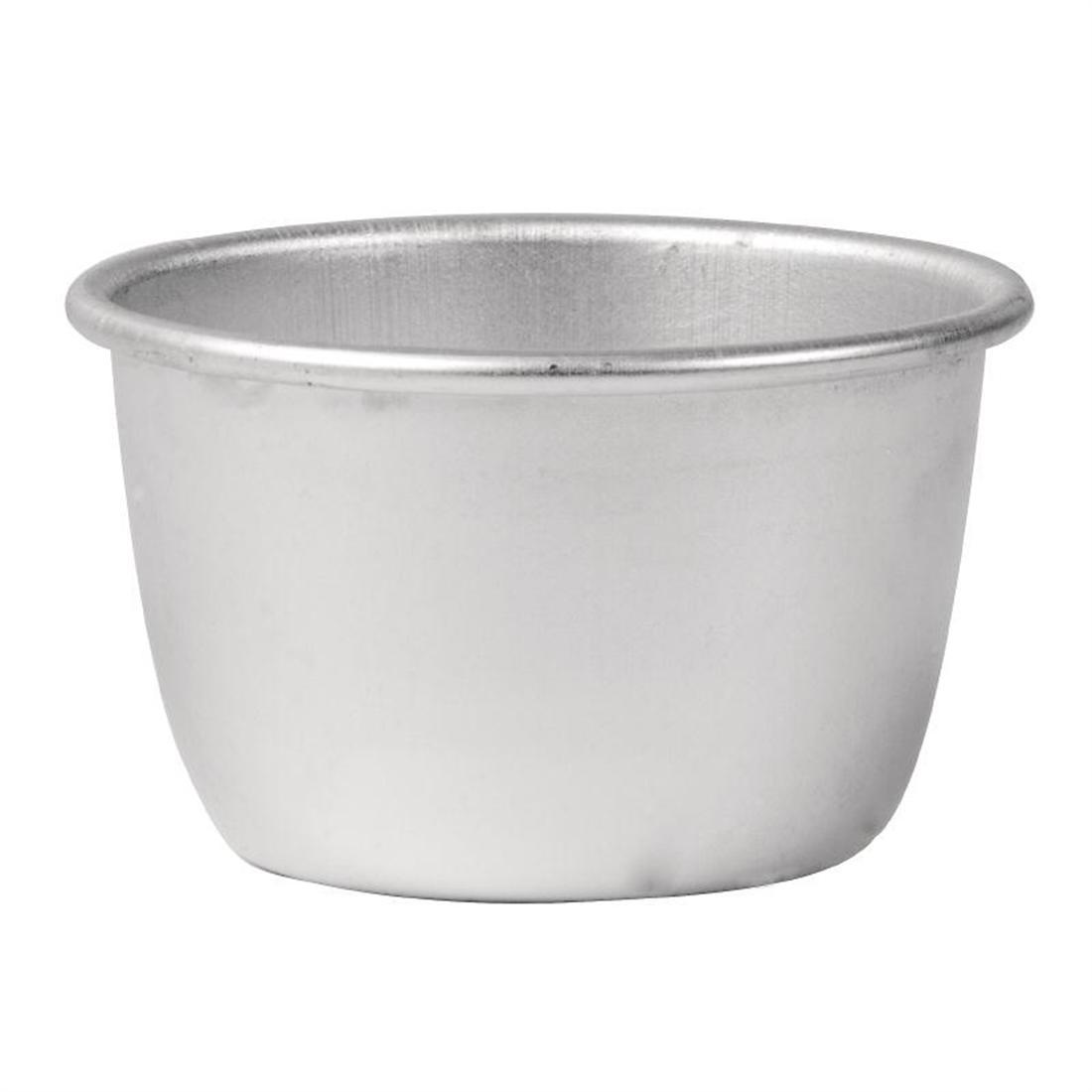 Vogue Aluminium Mini Pudding Basin 170ml - Each - E047