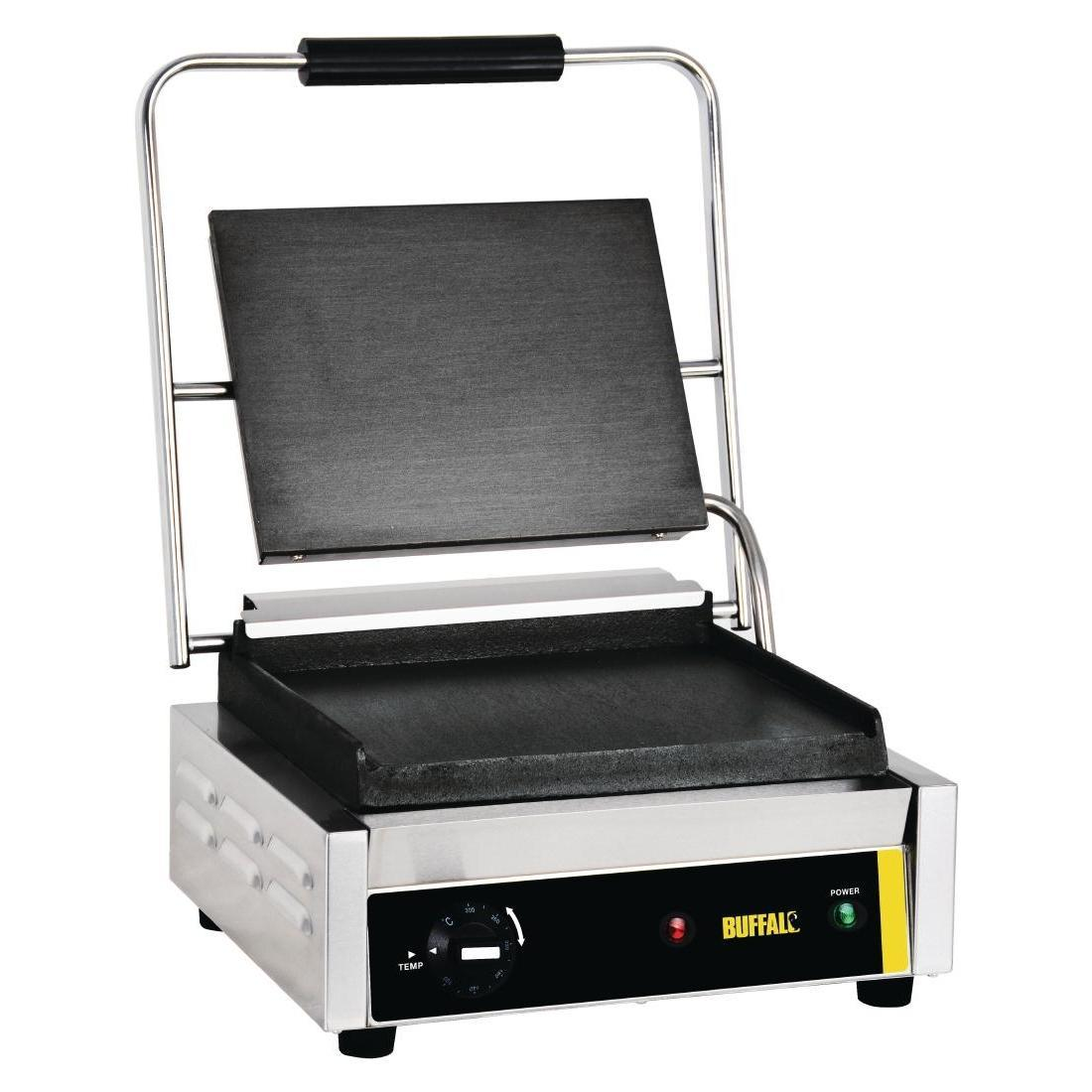 Buffalo Bistro Contact Grill Large Flat - GJ455