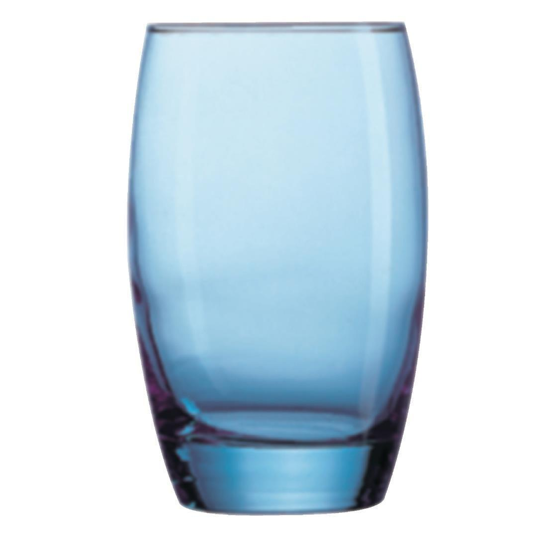 Arc Salto Ice Blue Hi-Ball Tumbler - 350ml 12oz (Box 24) - CJ483