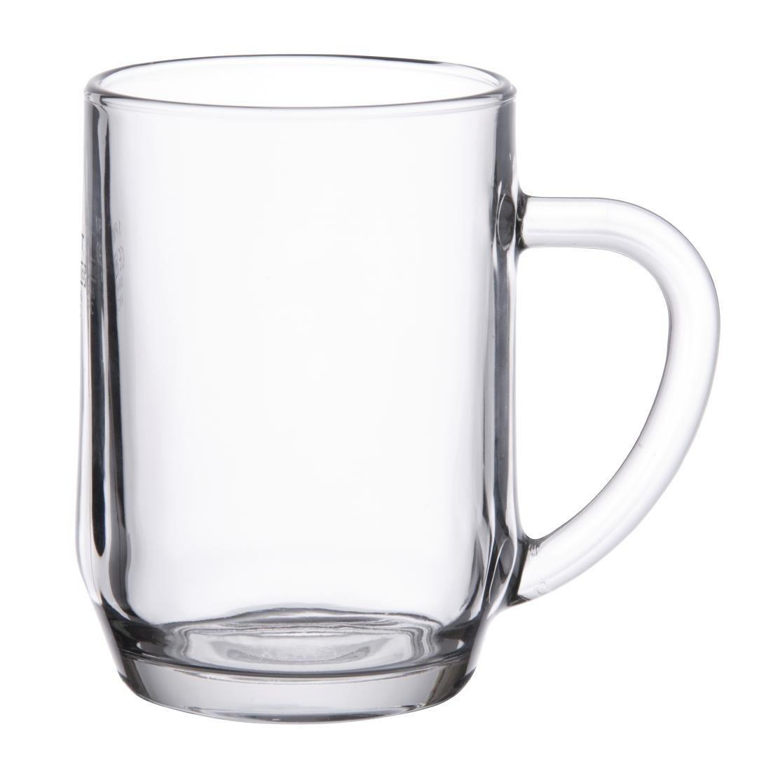 Arc Haworth Handled Tankard - 1Pint CE 20oz 570ml (Box 24) - DP086