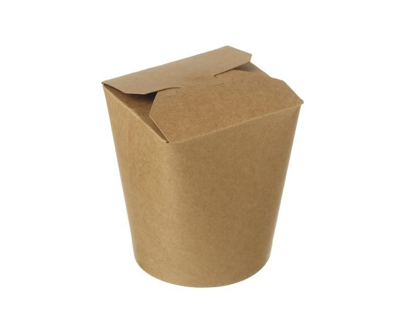Kraft Compostable Noodle Box 16oz