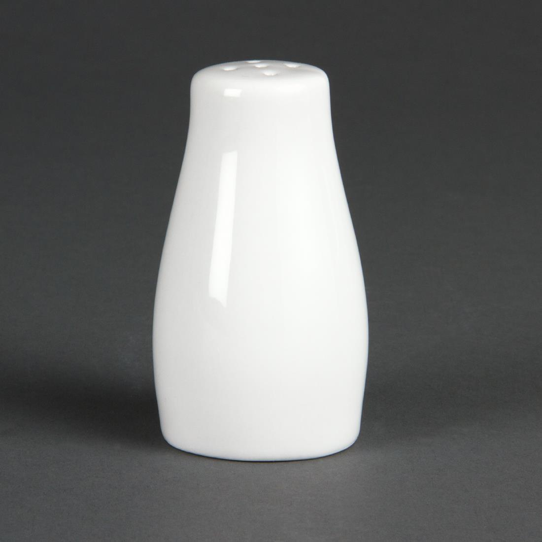 Olympia Whiteware Pepper Shakers 90mm