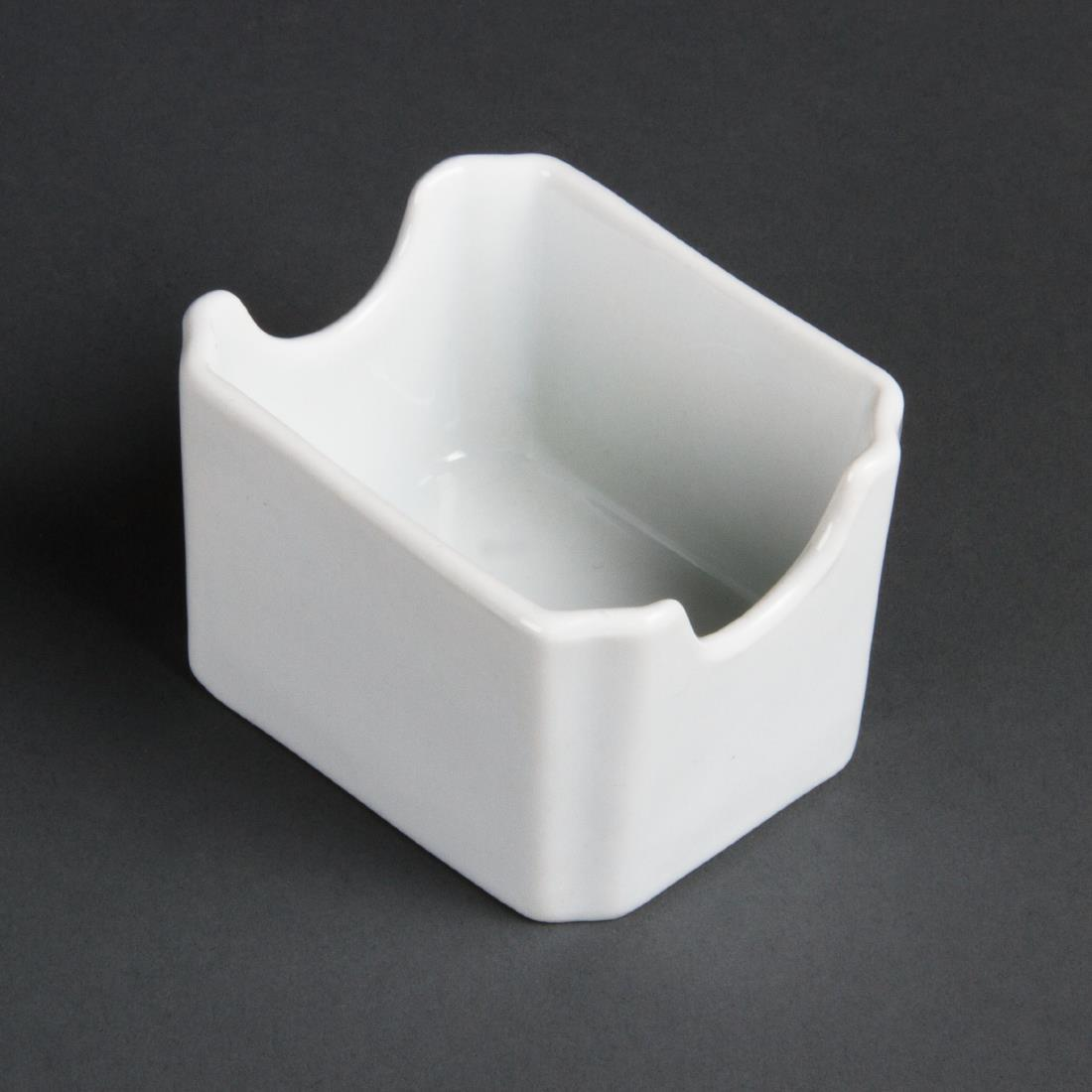 Olympia Whiteware Sachet Holders