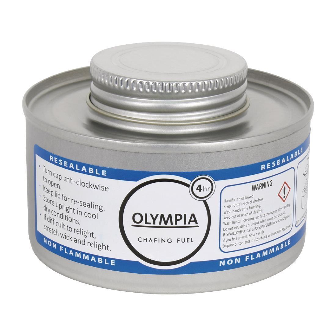 Olympia Liquid Chafing Fuel With Wick 4 Hour x 12