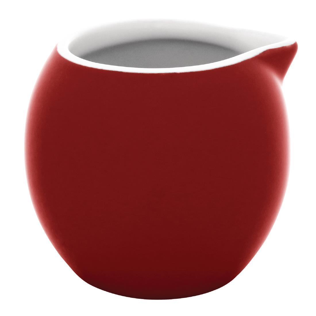 Olympia Cafe Milk Jug Red 70ml