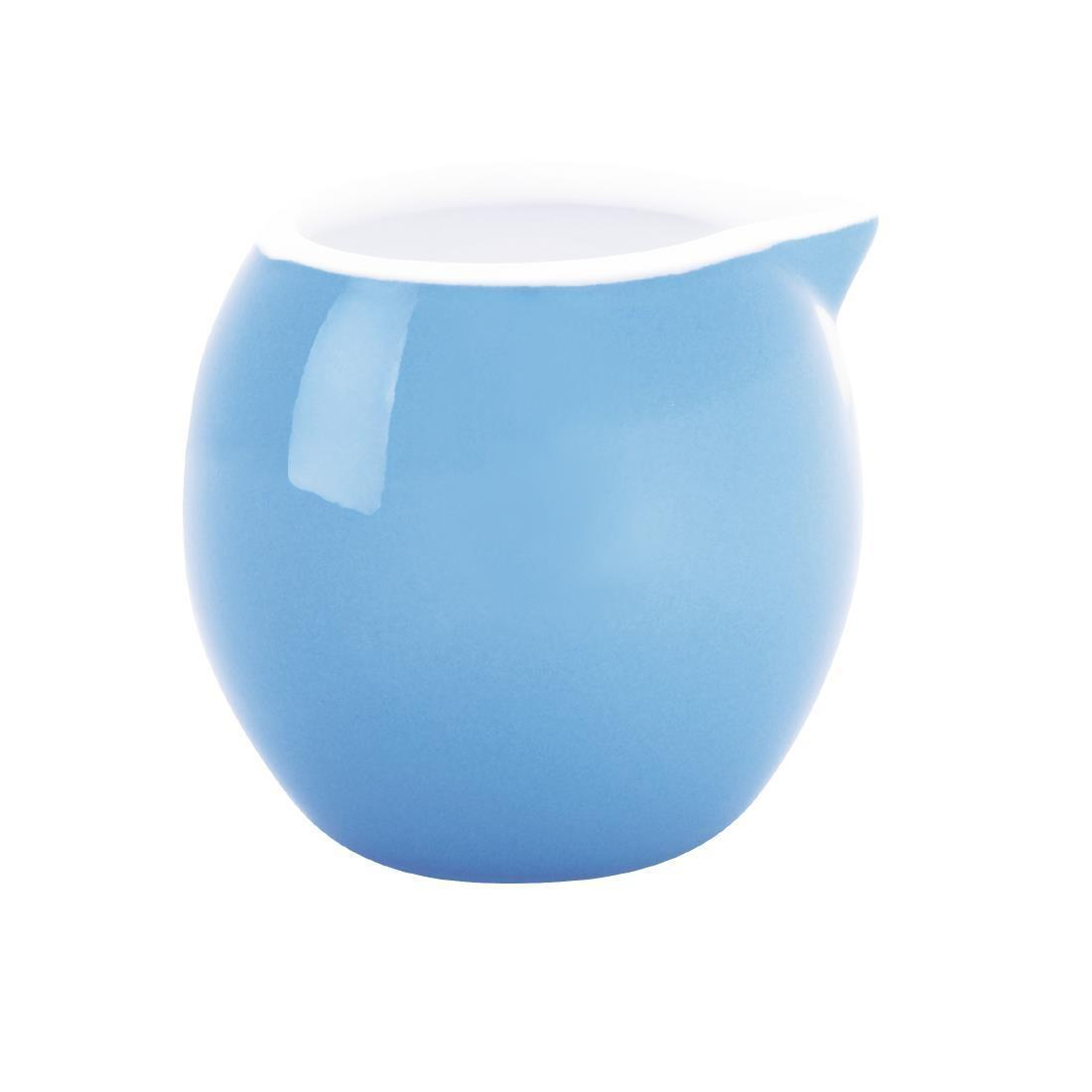 Olympia Cafe Milk Jug 70ml Blue