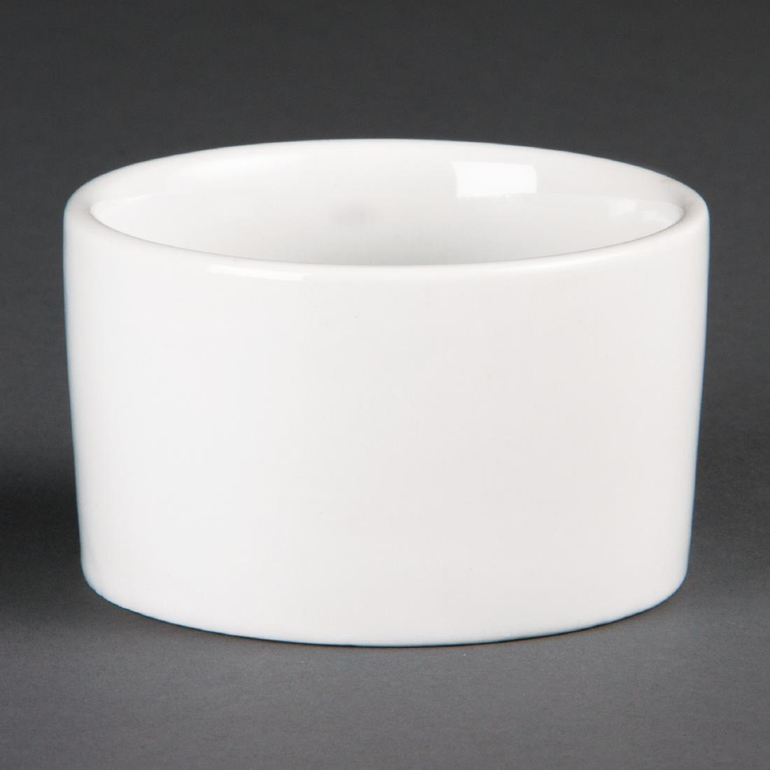 Olympia Whiteware Contemporary Ramekins 90mm