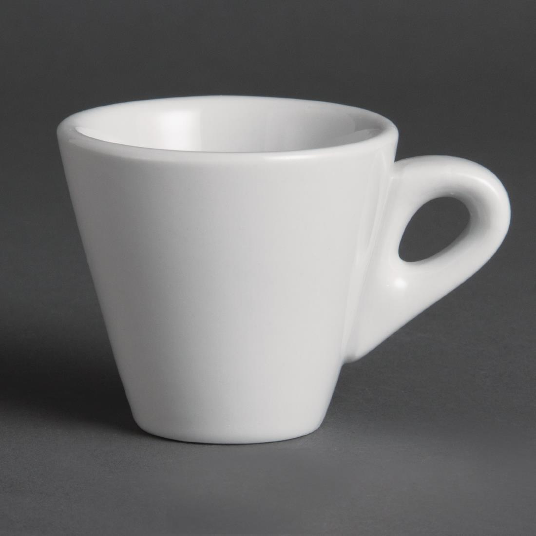 Olympia Whiteware Conical Espresso Cups 60ml 2oz