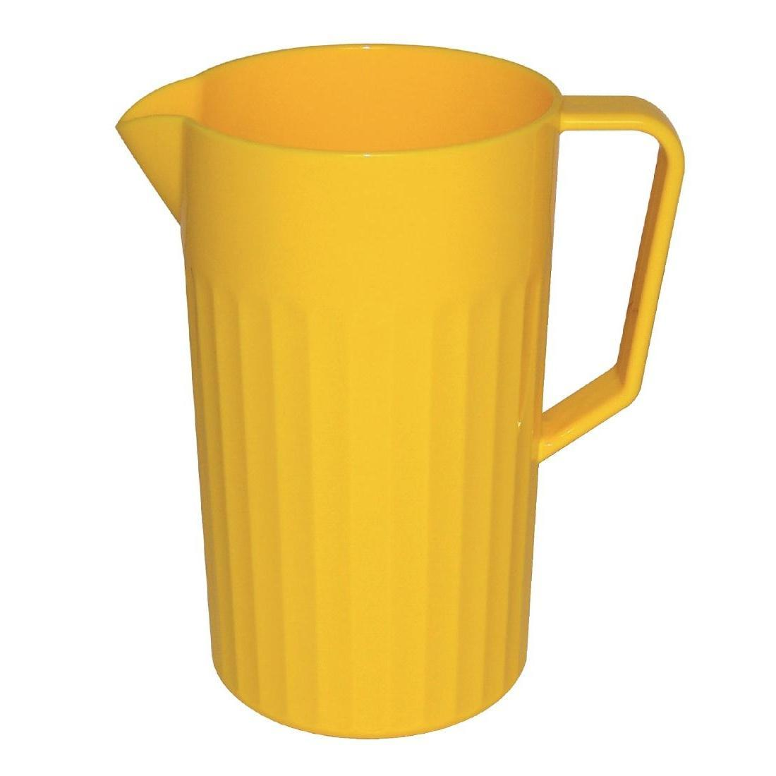 Kristallon Polycarbonate Jug Yellow 1.4Ltr - Each - CE278