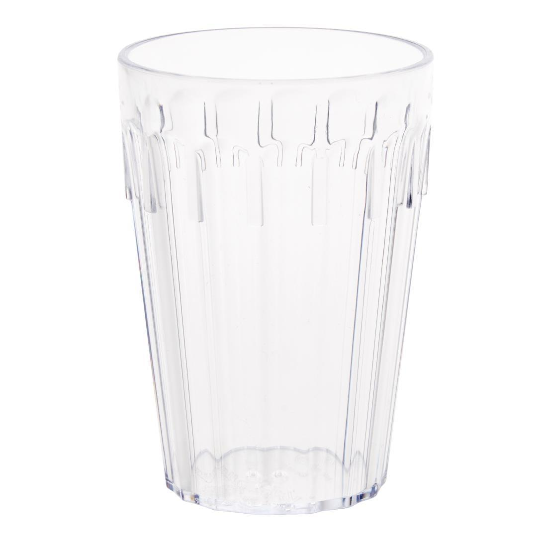 Kristallon Polycarbonate Tumblers 255ml - Case 12 - K577