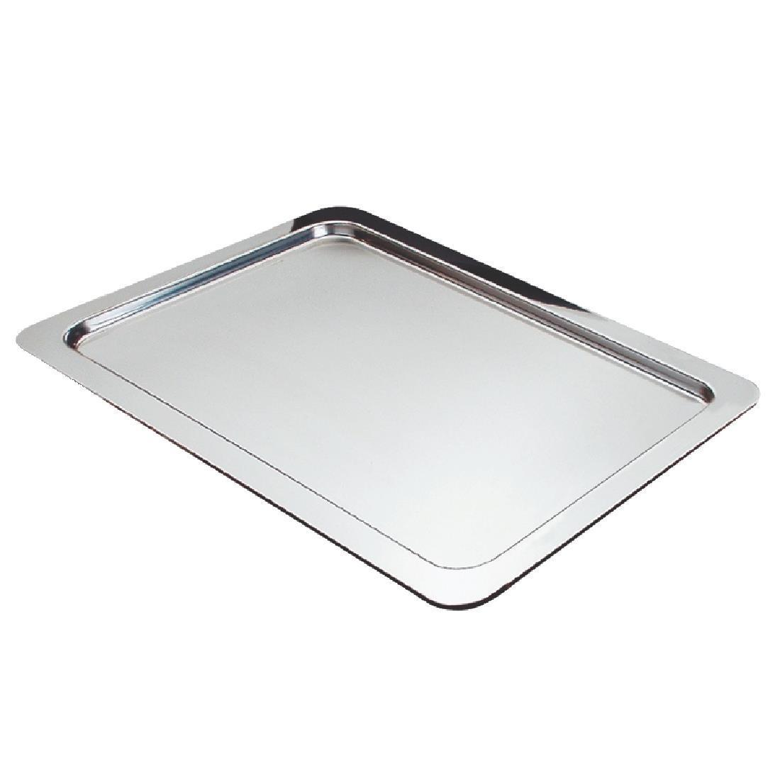 APS Stainless Steel Service Tray GN 1/1 - Each - CC464