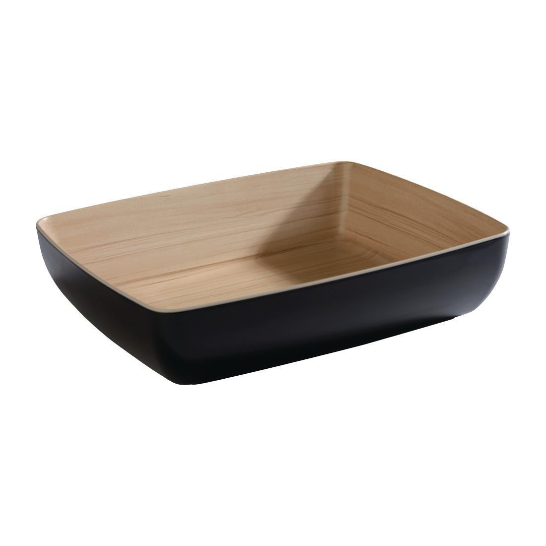 APS Frida Bowl GN1/2 Black - Each - DW065
