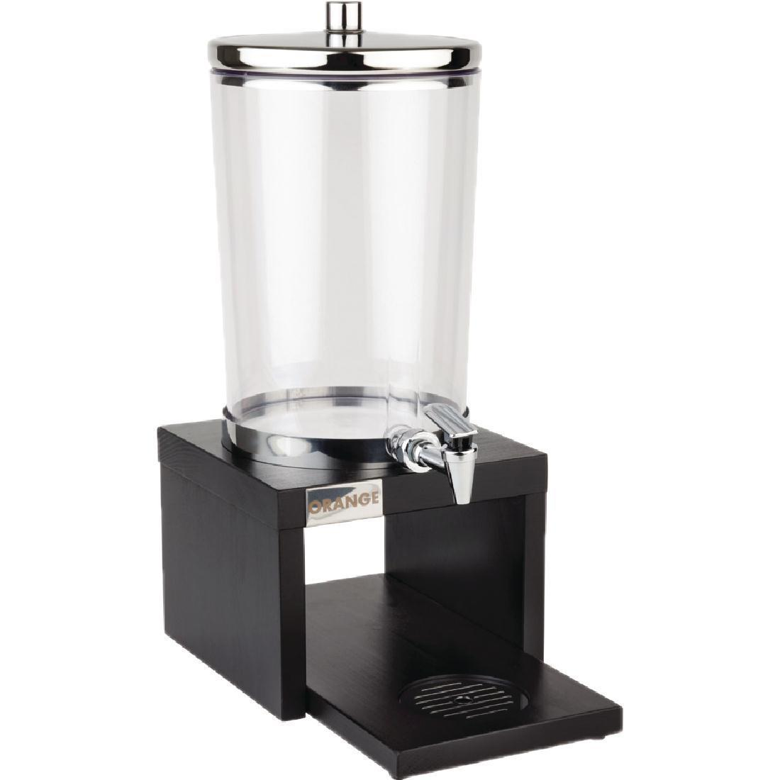 APS Wood Base Juice Dispenser Black - Each - GL629