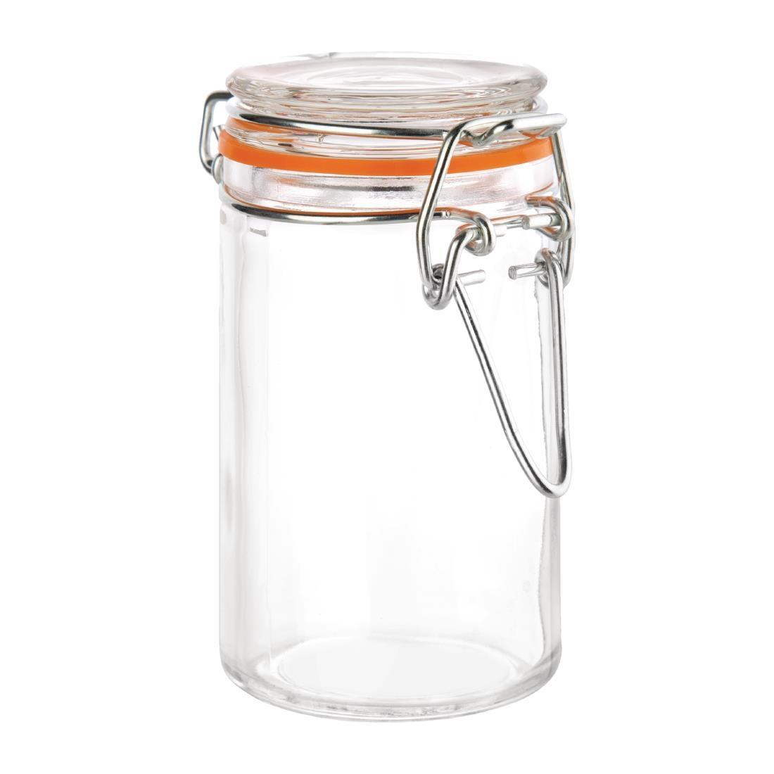 Vogue Mini Glass Terrine Jar 70ml - Case 12 - CG399