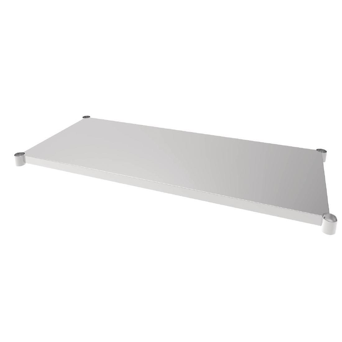 Vogue Stainless Steel Table Shelf 700x1500mm - Each - CP838