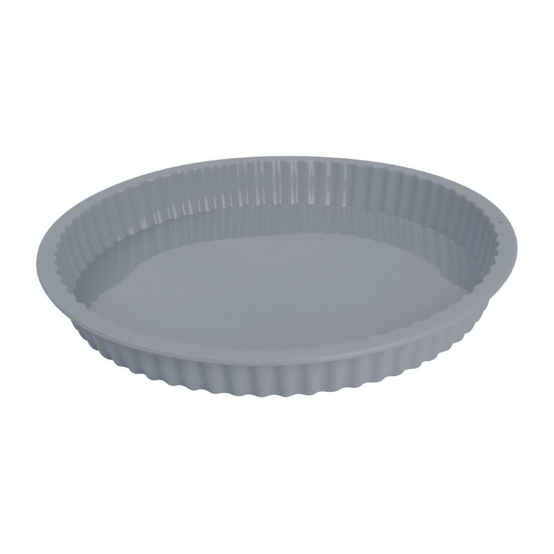 Vogue Flexible Silicone Round Bake Pan 250mm - Each - DA533