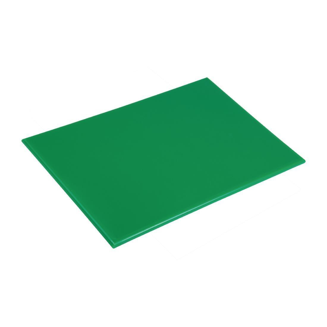 Hygiplas Anti Microbial High Density Green Chopping Board
