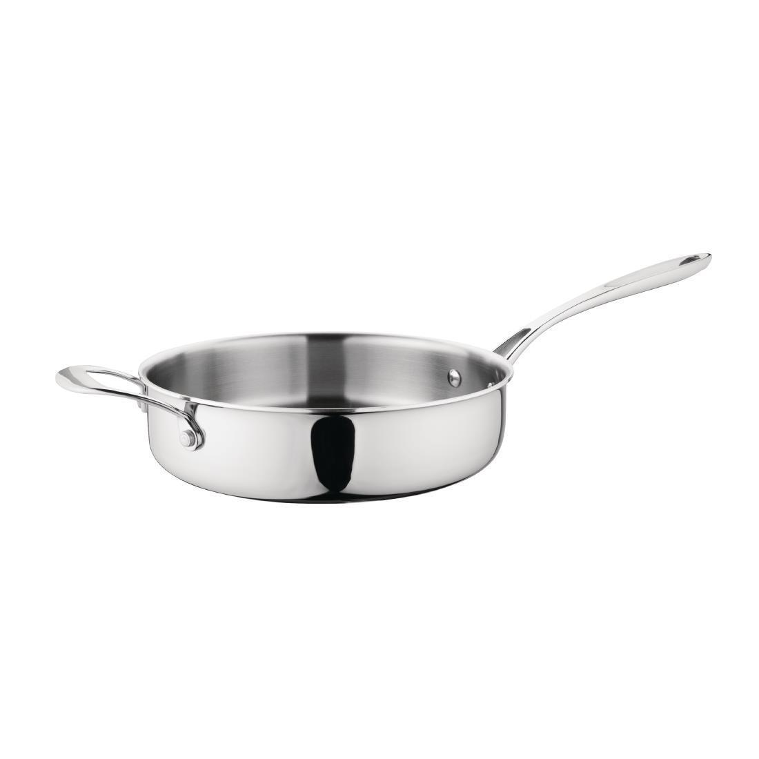 Vogue Tri Wall Saute Pan 240mm - Each - GG031