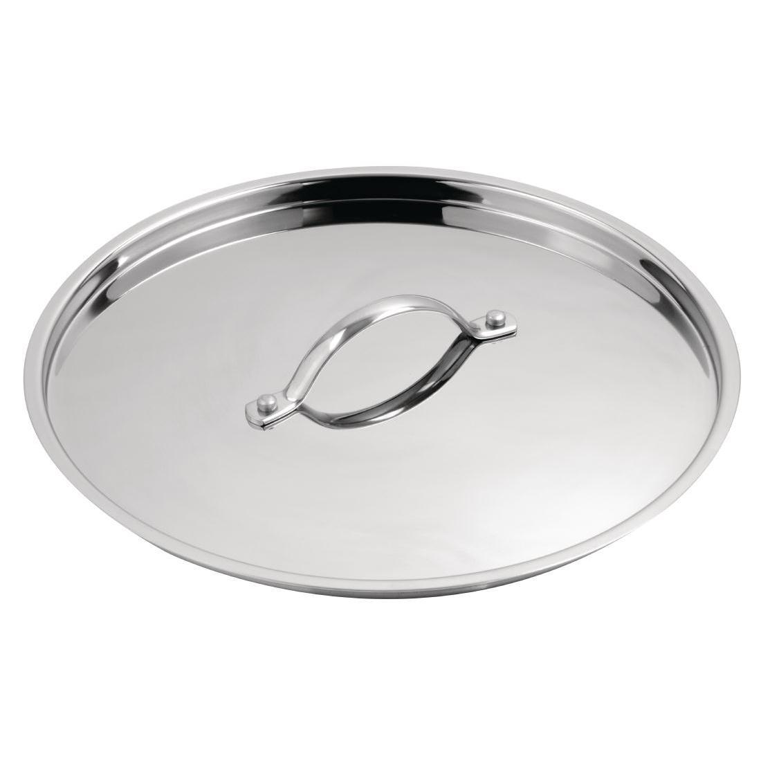 Vogue Stainless Steel Lid 180mm - Y427