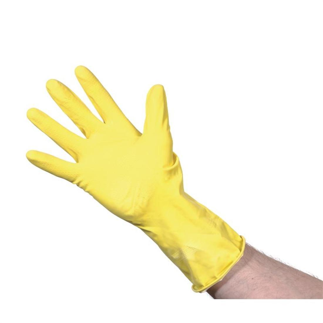 Jantex Household Glove Yellow Large