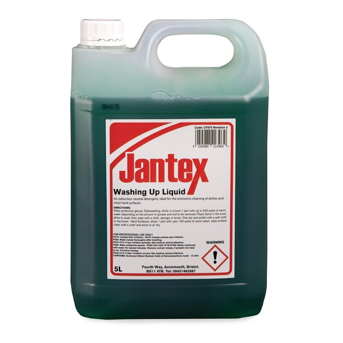 Jantex Washing Up Liquid 5 Litre