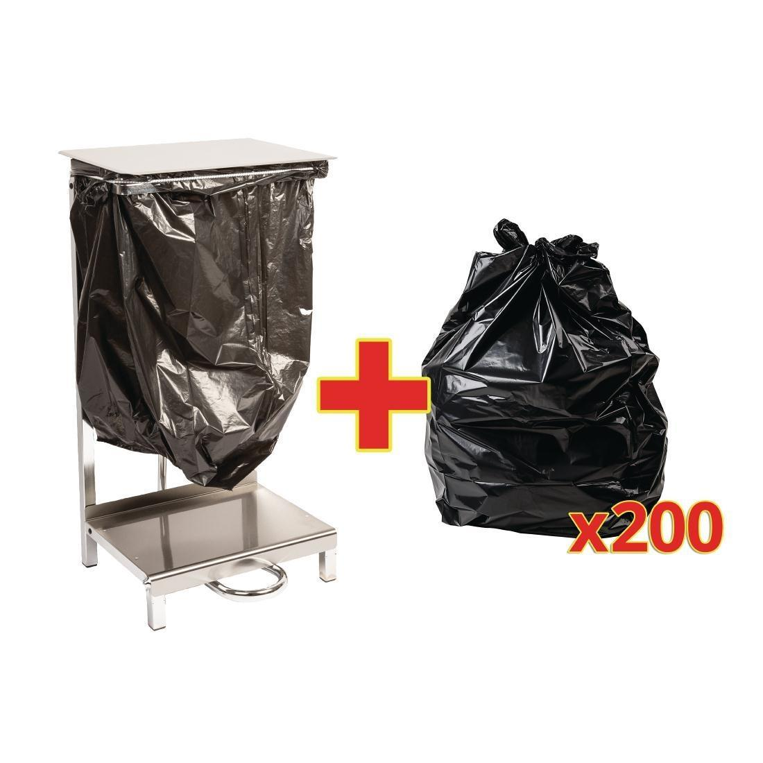 Special Offer - Jantex Steel Sack Holder and 200 Sacks