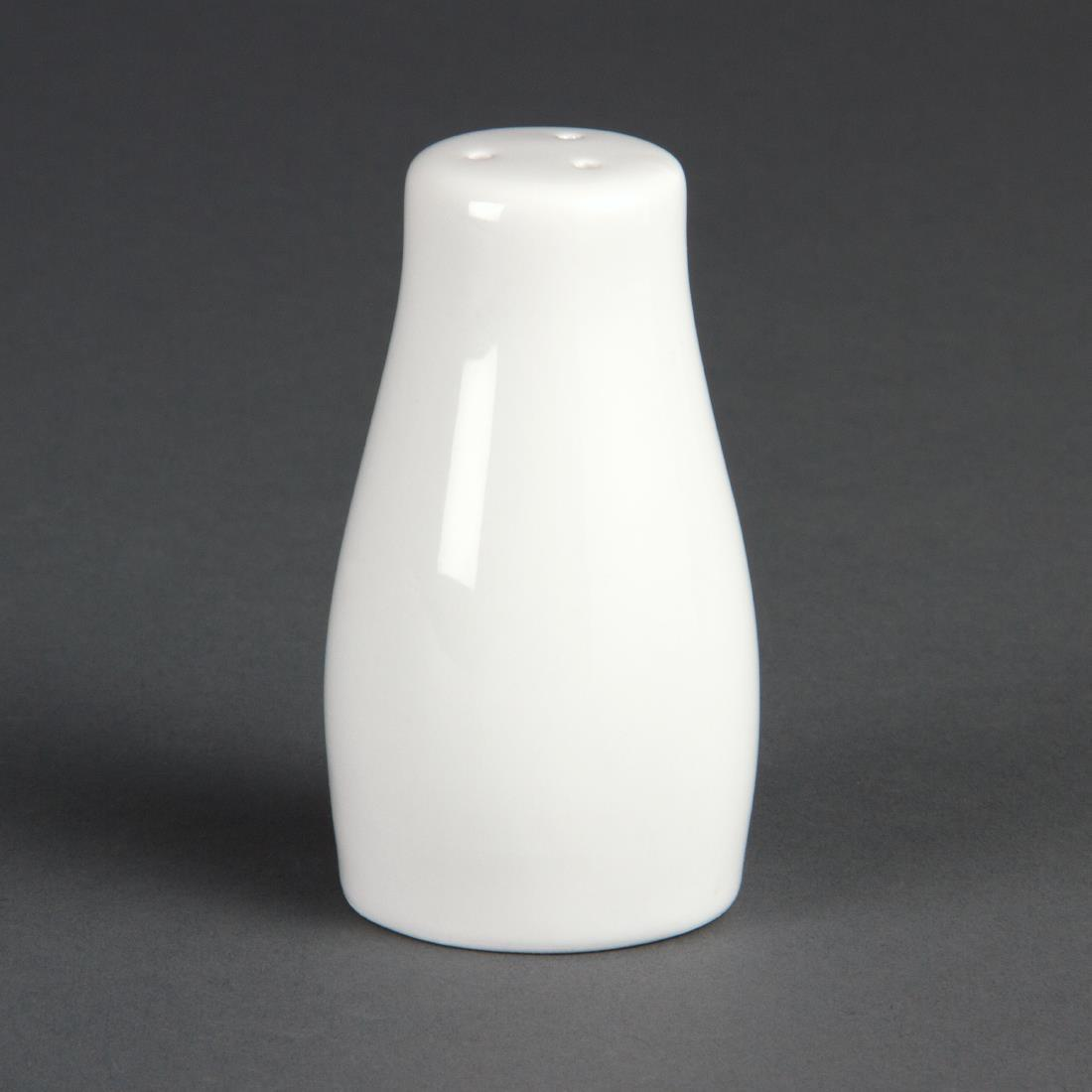 Olympia Whiteware Salt Shakers 90mm