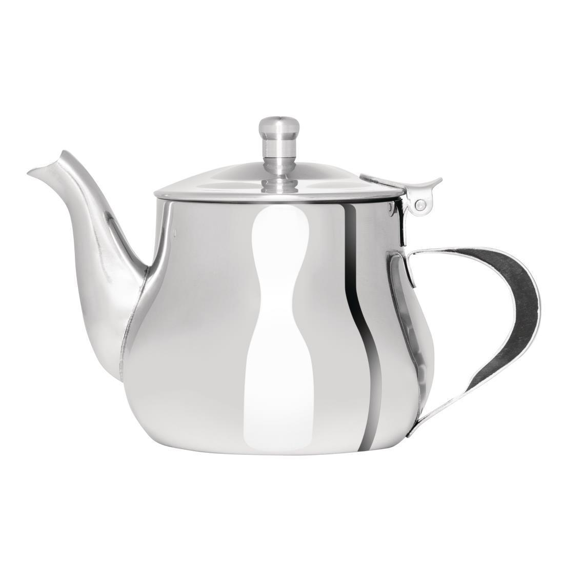 Olympia Arabian Stainless Steel Teapot 400ml