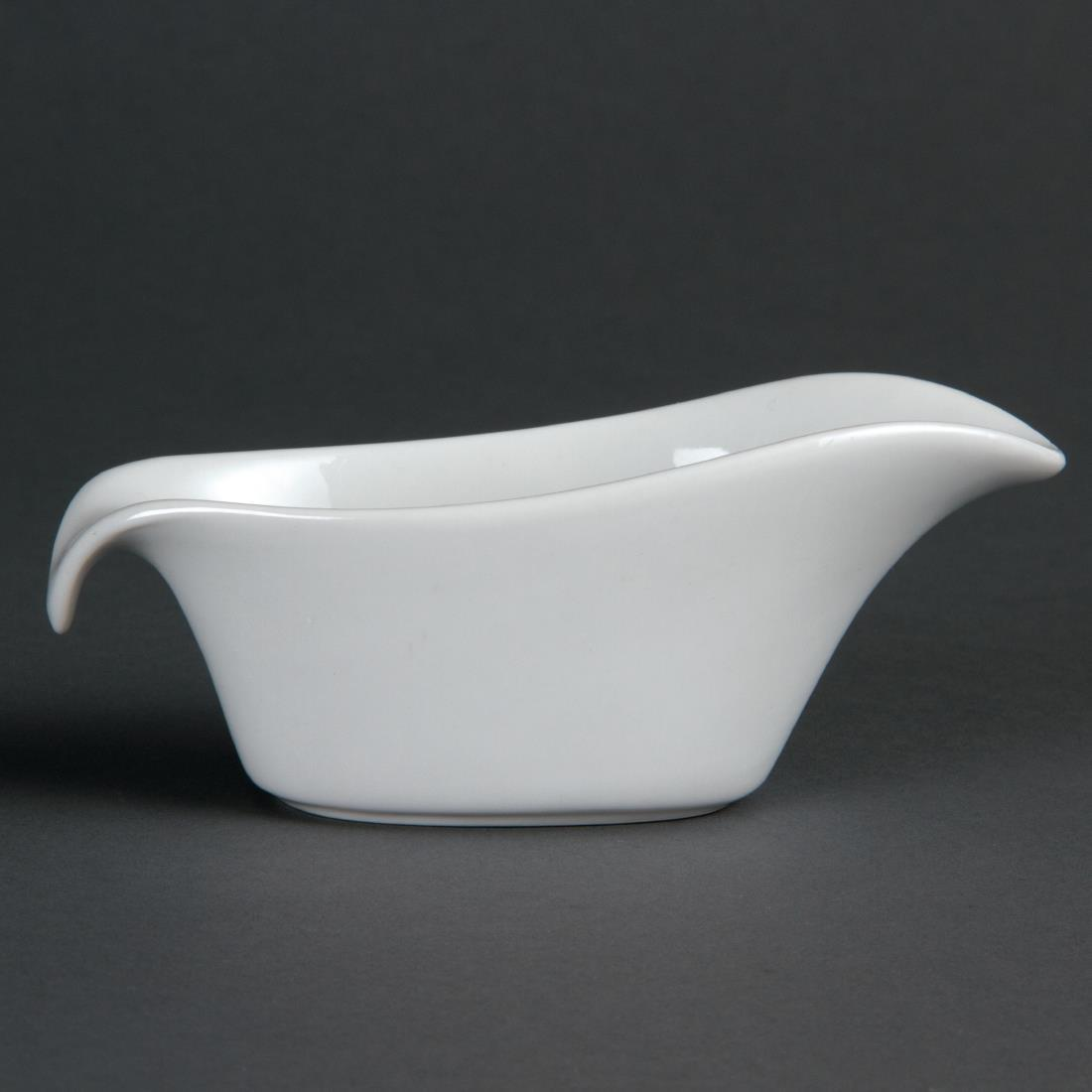 Olympia Whiteware Gravy Boats 85ml 3oz