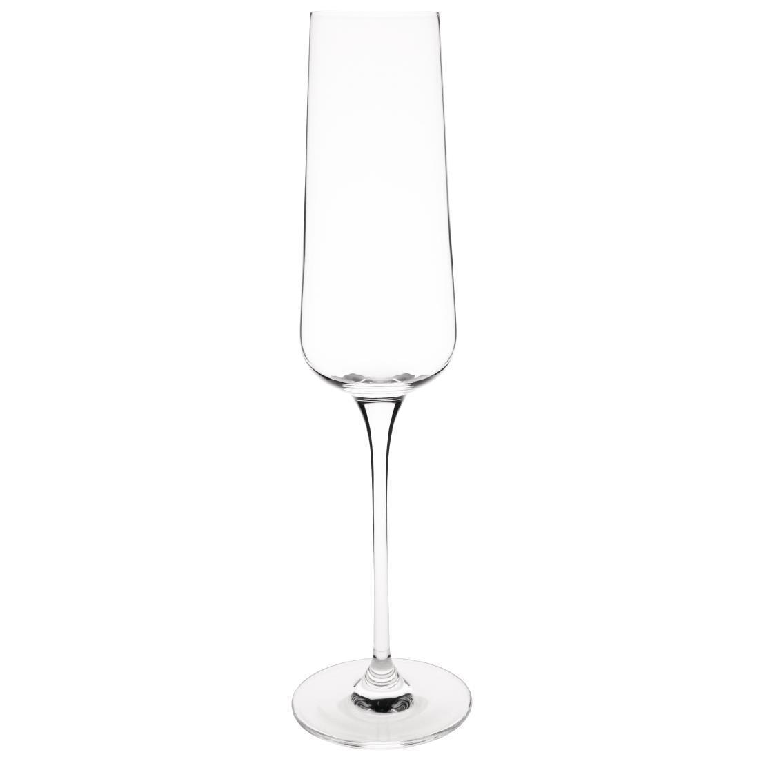 Olympia Claro One Piece Angular Champagne Flute 260ml