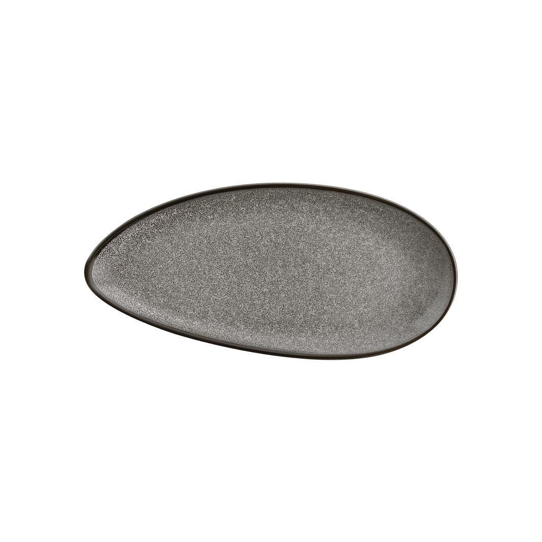 Olympia Mineral Leaf Plate 305mm