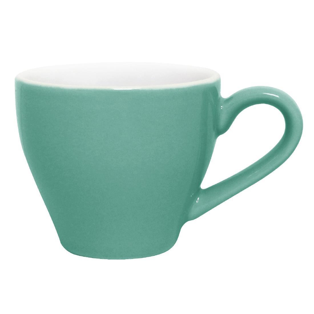 Olympia Cafe Espresso Cups Aqua 100ml