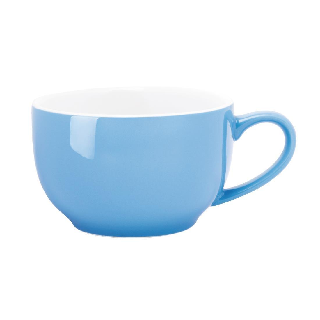 Olympia Cafe Coffee Cup Blue 228ml