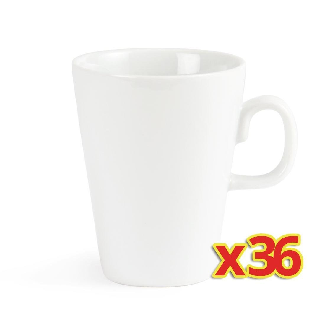 Bulk Buy Pack of 36 Olympia Latte Mugs 310ml