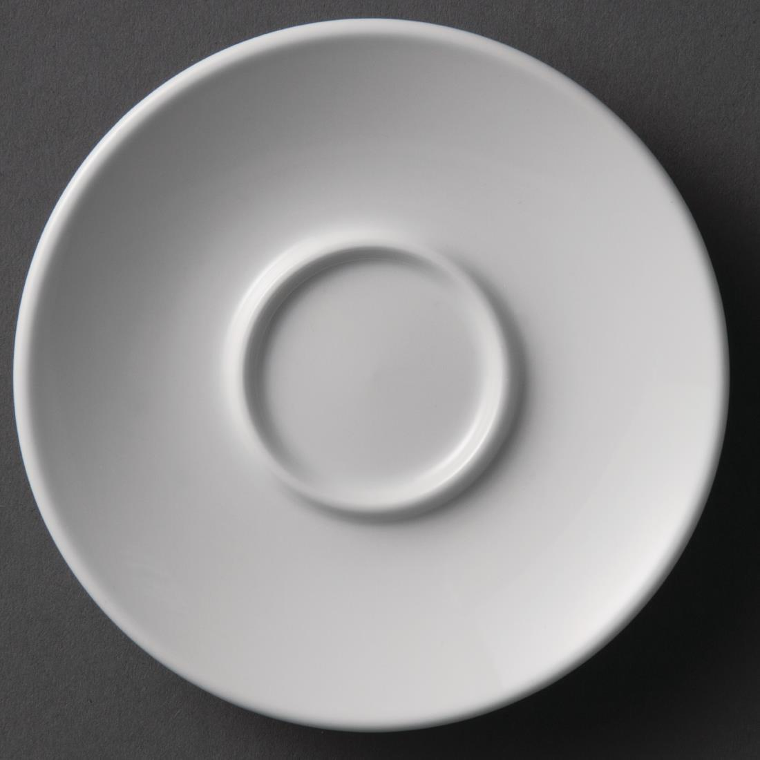 Olympia Whiteware Espresso Saucers 120mm