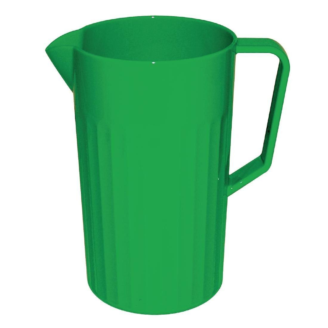 Kristallon Polycarbonate Jug Green 1.4Ltr - Each - CE279