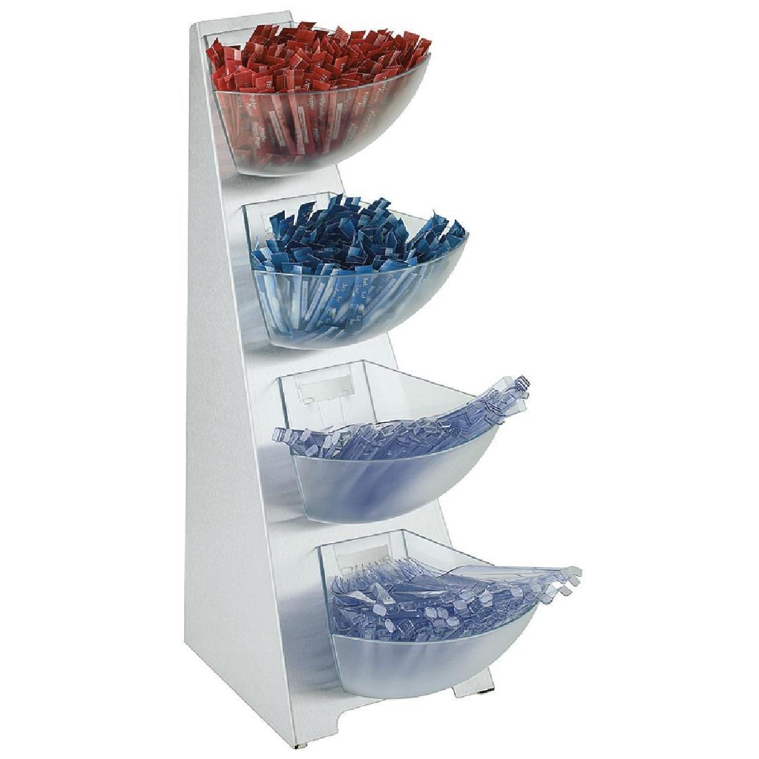 APS Four Tier Condiments Stand 530mm - Each - DE544