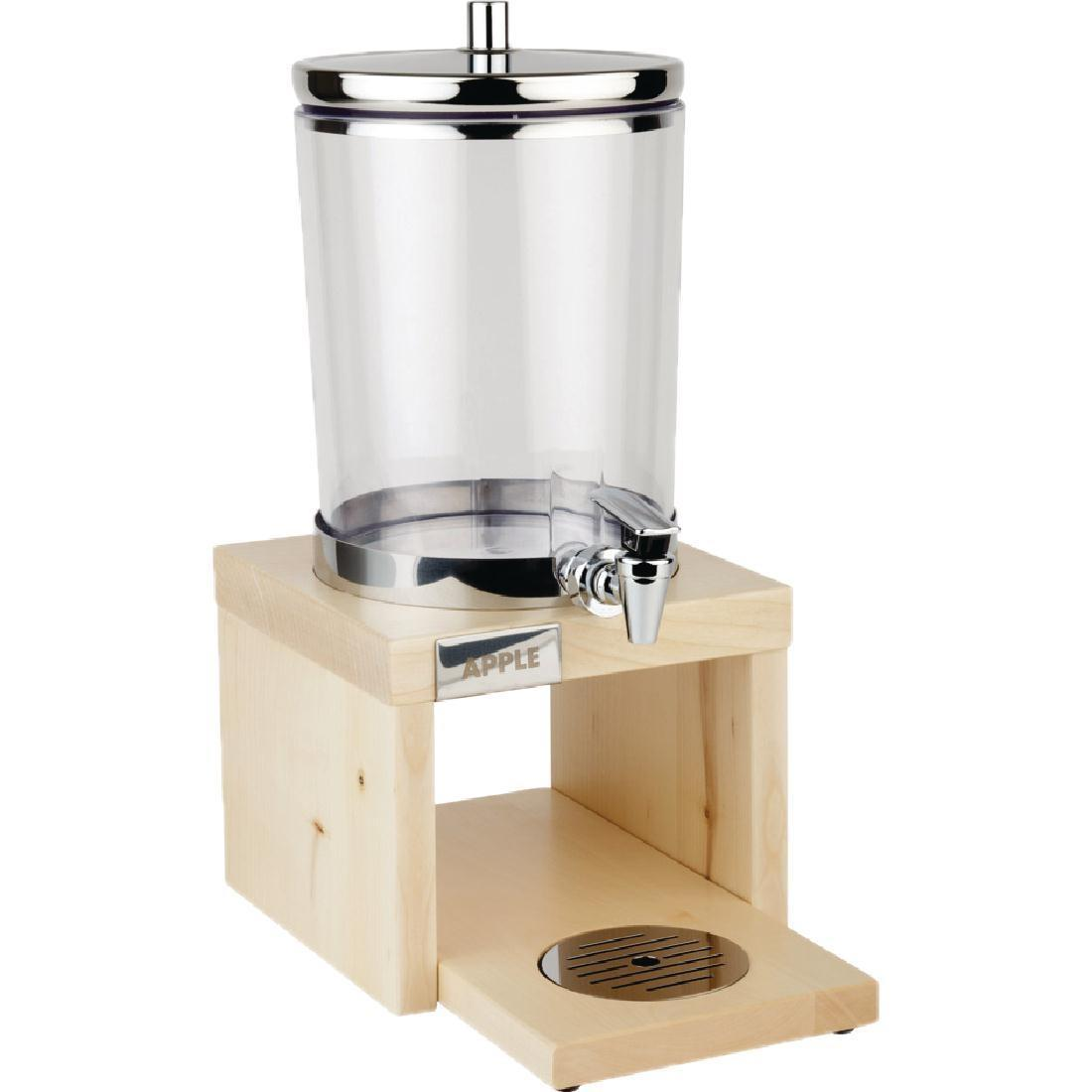 APS Wood Base Juice Dispenser Maple - Each - GL628