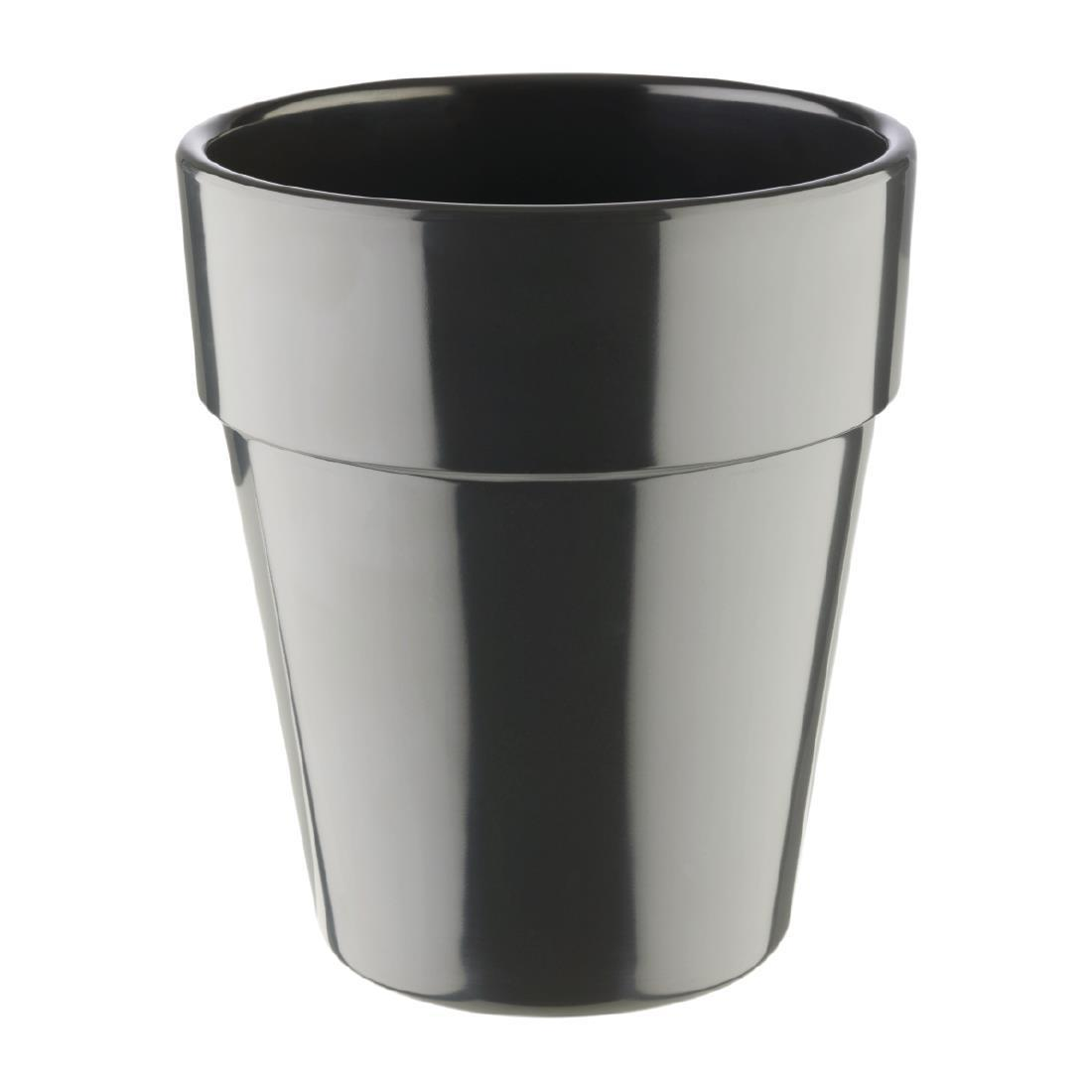 APS Flowerpot 130mm Grey - Each - HC748