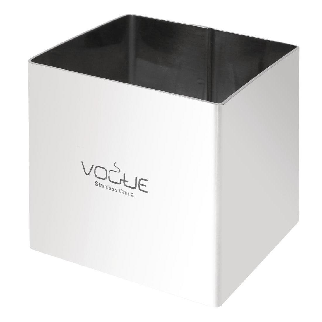 Vogue Square Mousse Rings 60 x 60 x 60mm Extra Deep - Each - CF165