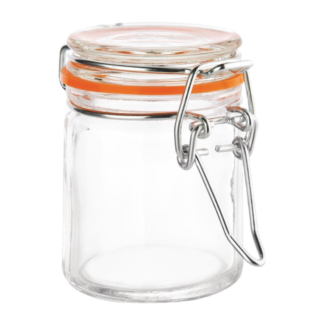 Vogue Mini Glass Terrine Jar 50ml - Case 12 - CG398